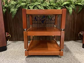 Lansing Audio (3 Shelves) 100% Natural ash Wood Shelves Handcrafted for Holding amplifiers Mcintosh, accuphase, Altec vv.