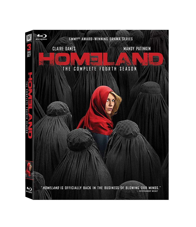Homeland: Great interest OFFicial Season 4 Blu-ray
