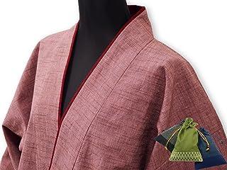 【日本製】 女性用パンツルック作務衣 【IKISUGATA】 和粋庵特製巾着付き