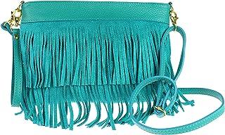 Girly Handbags Wildleder Umhängetasche Quaste