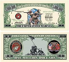 US MARINE CORPS COMMEMORATIVE MILLION DOLLAR BILL (w/protector)