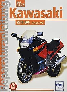 Kawasaki ZZ R 600 ab 1990 (Reparaturanleitungen)