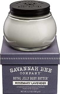 Royal Jelly Body Butter ROSEMARY LAVENDER by Savannah Bee Company - 6.7 Ounce