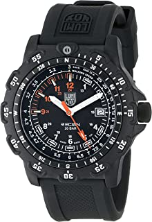 Luminox Men's 8821.KM Recon Pointman Black, Rubber Band, With Multi Color Accents Watch