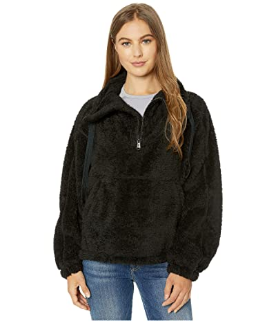 FP Movement Big Sky High Neck Pullover (Black) Women
