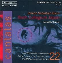 Bach, J.S.: Cantatas, Vol. 22 - Bwv 7, 20, 94