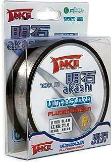 Nylon DE PECHA Take AKASHI ULTRACLEAR FLUOROCARBON 50 M Modelo: 0,45 mm