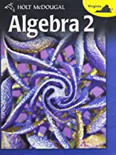 Holt McDougal Algebra 2: Student Edition Algebra 2 2012