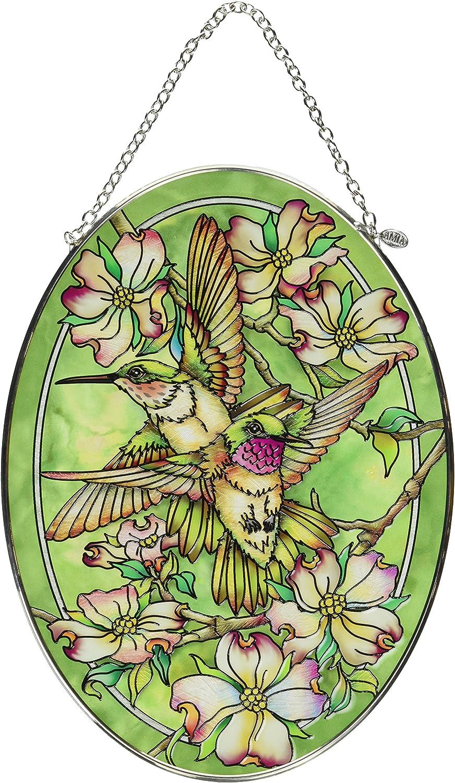 Amia Friendship Hummingbird Glass Sun Sale special price Catcher Seasonal Wrap Introduction High Multico 9