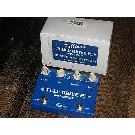 Fulltone Full-Drive 2 (MOSFET) Fullldrive 『並行輸入品』 フルトーンオーバードライブ