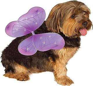 Rubie's Pet Costume Purple Fairy Wings