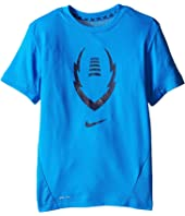 Nike Kids - Football Gear Up Short Sleeve Fitted Top (Little Kids/Big Kids)