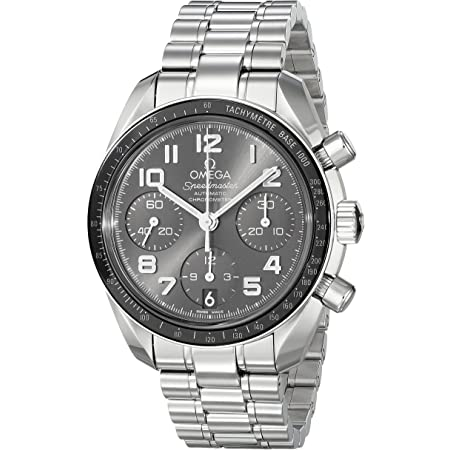 Omega Women's 32430384006001 Speedmaster Analog Display Swiss Automatic Silver Watch