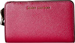 Marc Jacobs - Metallic Saffiano Compact Wallet
