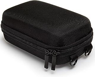 Baxxtar Pure Black Funda para cámaras - Negro Talla L - CyberShot DSC HX60 HX80 HX90 HX95 HX99 - Coolpix W100 W150 A900 - Lumix DMC TZ80 TZ70 - PowerShot SX730 SX740