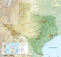 Best paper map of texas Reviews