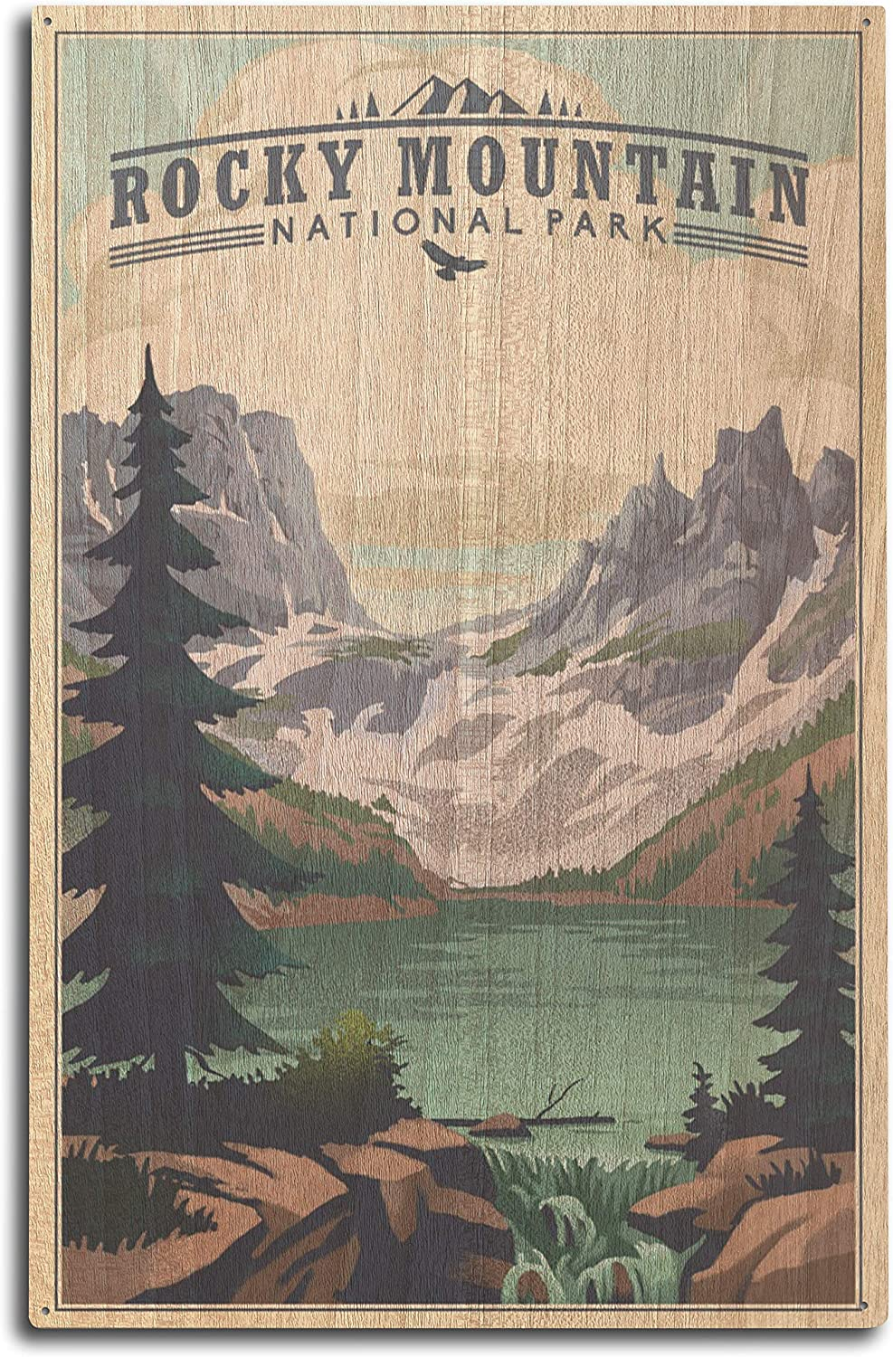 Classic Lantern Press Rocky Mountain Sales of SALE items from new works National Park Lake Lith Colorado