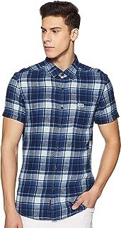 US Polo Association Men's Checkered Casual Shirt
