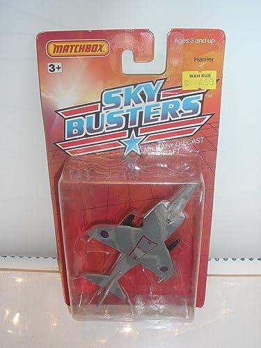 tienda Matchbox Metal Sky Busters 1989 1989 1989 Harrier  5 Military Die Cast Aircraft by Matchbox  descuento de ventas en línea