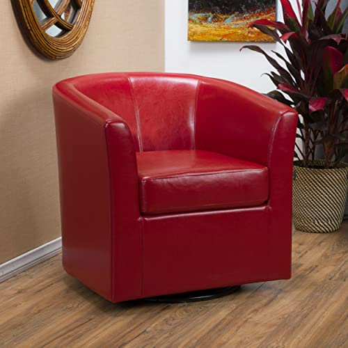 Christopher Knight Home Daymian Arm Chair, Red