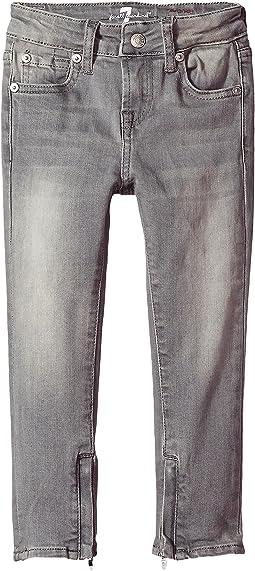 7 For All Mankind Kids - Denim Jeans in London Grey Skies (Big Kids)