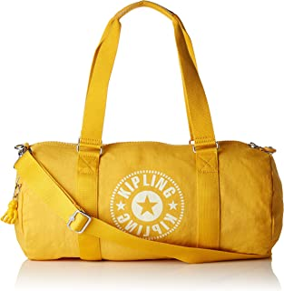 Kipling ONALO Gym Tote, 45 cm, 18 liters, Yellow (Lively Yellow)