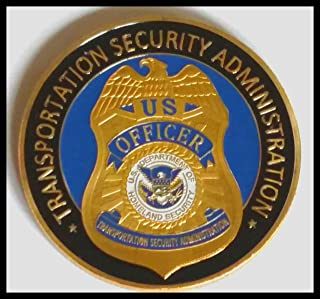 TSA Transportation Security Administration Colorized Challenge Art Coin