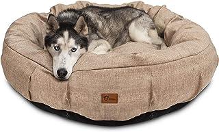 Superior Pet Goods Harley Thatch Dog Bed, Beige, Jumbo