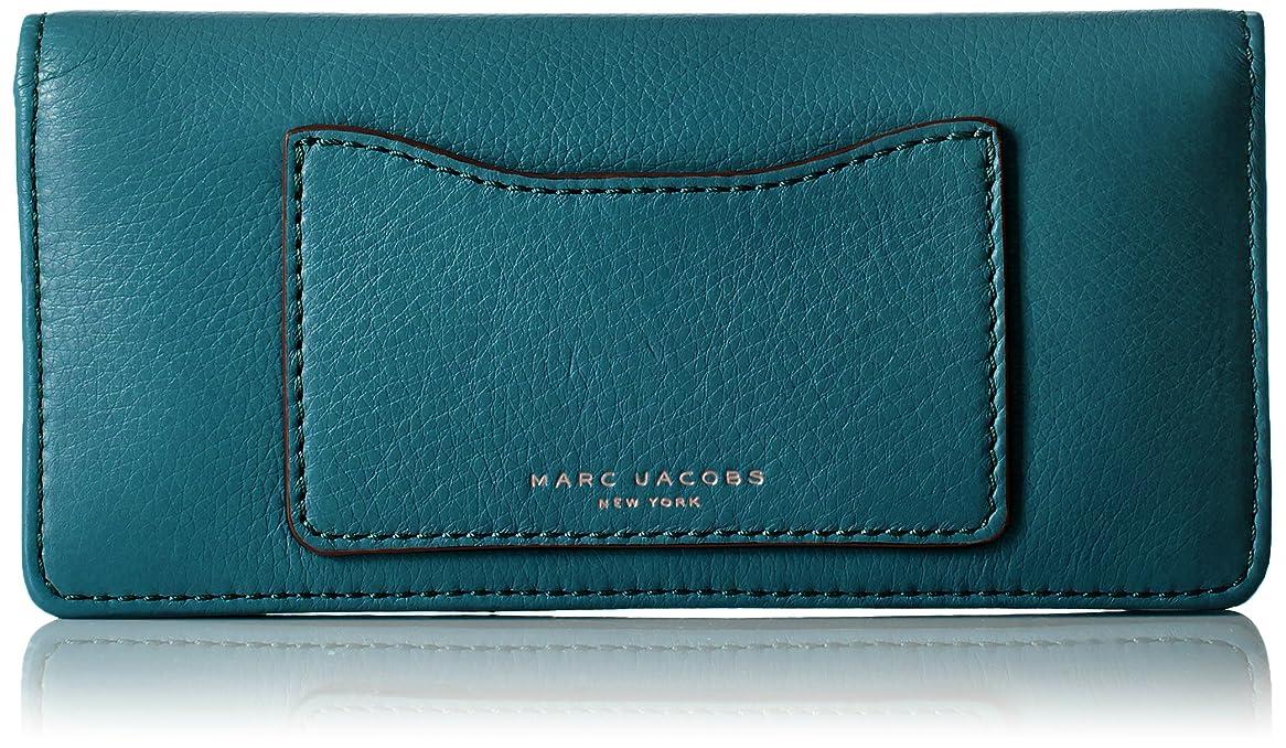 ずらす子供っぽい架空のMarc by Marc Jacobs マーク バイ マークジェイコブス 財布 長財布 かぶせ レディース 財布 Recruit Open Face Wallet