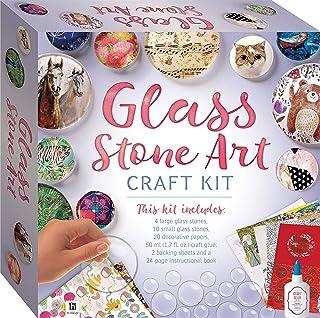 Glass Stone Art Craft Kit (tuck box)
