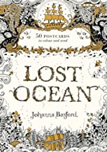 Lost Ocean Postcard Edition: 50 Postcards to Colour and Send [Diary]