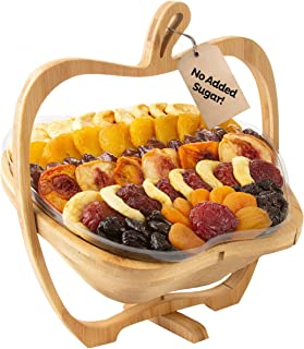 Oh! Nuts Christmas Gift Baskets Healthy Assorted No Sugar Added Dried Fruit Gourmet Holiday Family Party Gifts Vegan All Natural Prime Delivery Fathers Day Snack Food Tray Unique Ideas for Men Women