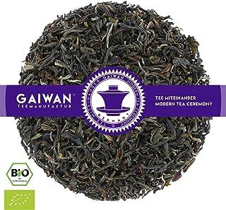 "N° 1189: Tè nero biologique in foglie ""Darjeeling Seeyok SFTGFOP1"" - 1 kg - GAIWAN® GERMANY - tè in foglie, tè bio, tè nero dall'India, 1000 g"