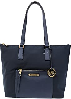 29beff2cc40d MICHAEL Michael Kors Ariana North/South Large Nylon with Leather Trim Tote