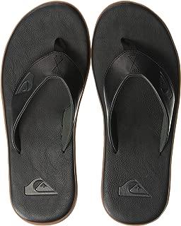 Quiksilver Men's Haleiwa Plus Nubuck Flip-Flop