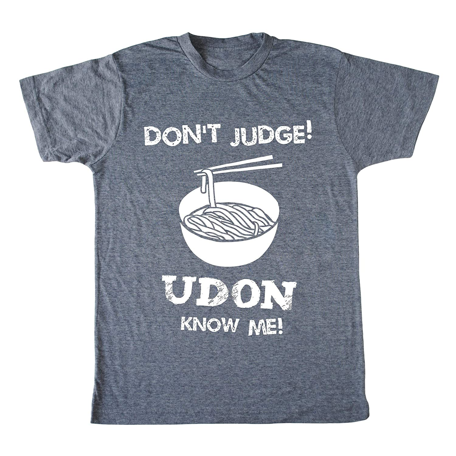 Men's sold out Noodle Shirt - Don't Judge Asian Udon Me Max 40% OFF Japa Funny Know