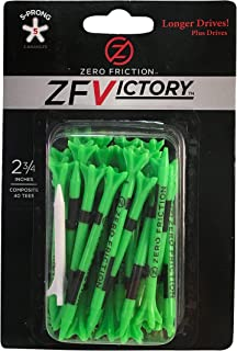 Zero Friction Victory 5-Prong Golf Tees