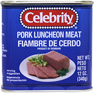 celebrity luncheon meat