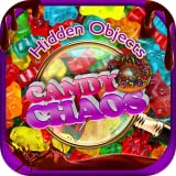 Hidden Objects Candy Chaos & Dessert Junk Food – Chocolate, Cupcakes, Donuts Object Time Puzzle Photo Pic FREE Game & Spot the Difference