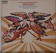 The Great Choruses from Handel's Messiah: Robert Shaw [ LP Vinyl ]