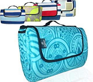 ANJ XXL 3-Layer Waterproof Outdoor Blanket for Picnic and Beach