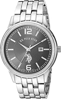U.S. Polo Assn. Men's Stainless Steel Analog-Quartz Watch...