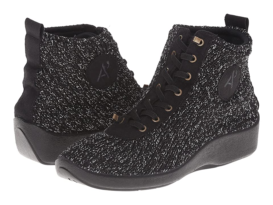 Arcopedico Shocks 5 (Black Starry Nite) Women