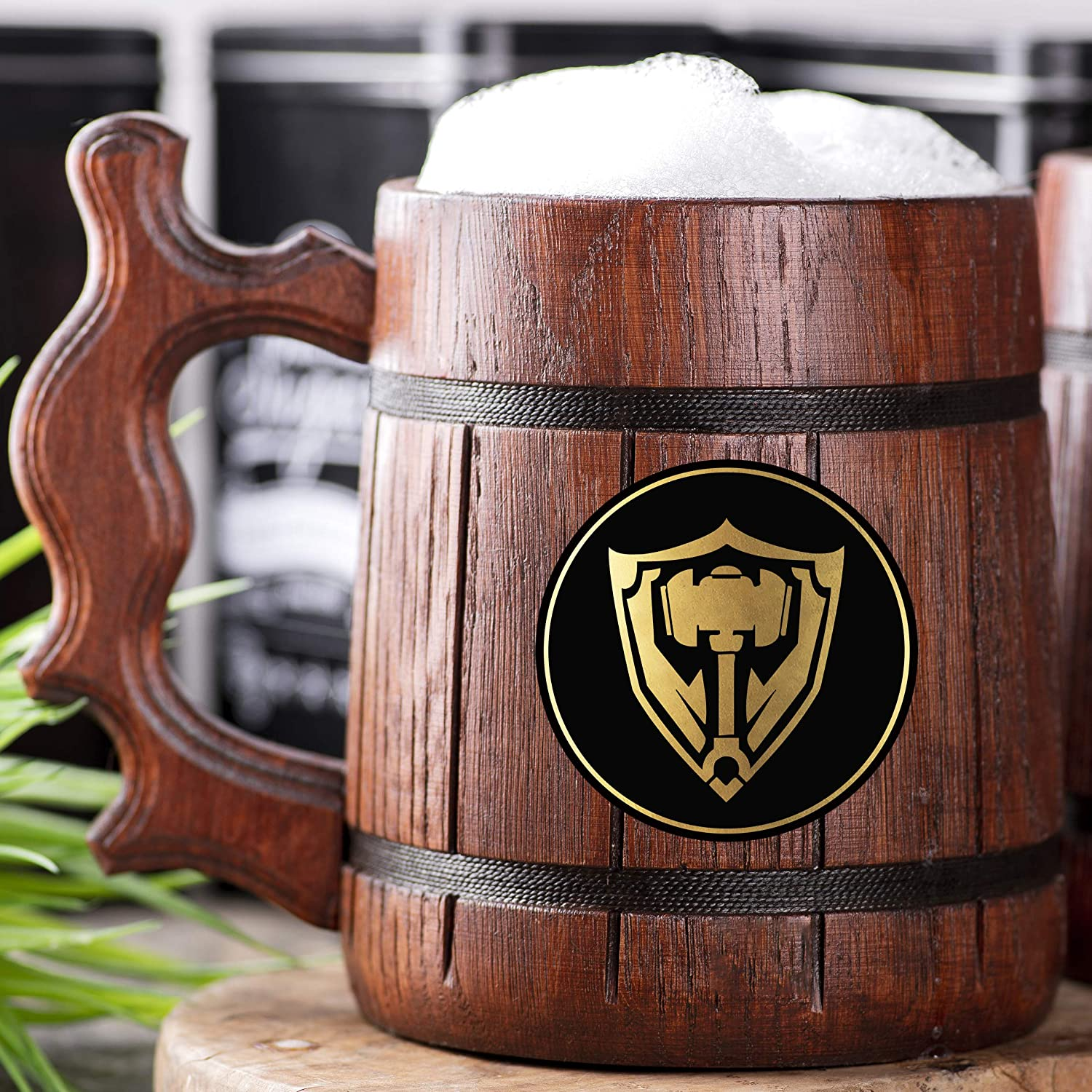Award-winning store League of Legends Tank Beer Personalized San Diego Mall Wooden Mug. G