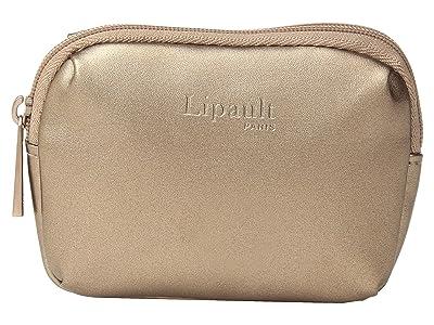 Lipault Paris Miss Plume Coin Purse (Pink Gold) Wallet Handbags