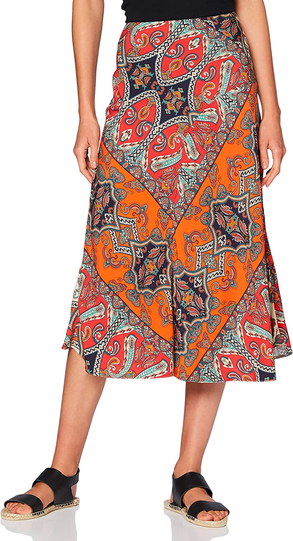 find. Women's Printed Summer Midi Skirt