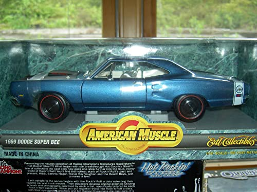 7271 Ertl American Muscle 1969 Dodge Super Bee 1 18 Scale Diecast Relica by Ertl