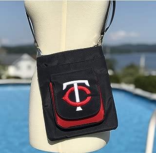MLB Traveler Crossbody Bag womens- Embroidered Logo
