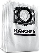 Kärcher Vliesfilterzakset (4 Stuks Vliesfilterzakken, Extreem Scheurvast, Stofbestendigheid), Voor Kärcher Multifunctionel...