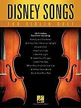 Disney Songs for Violin Duet (English Edition)